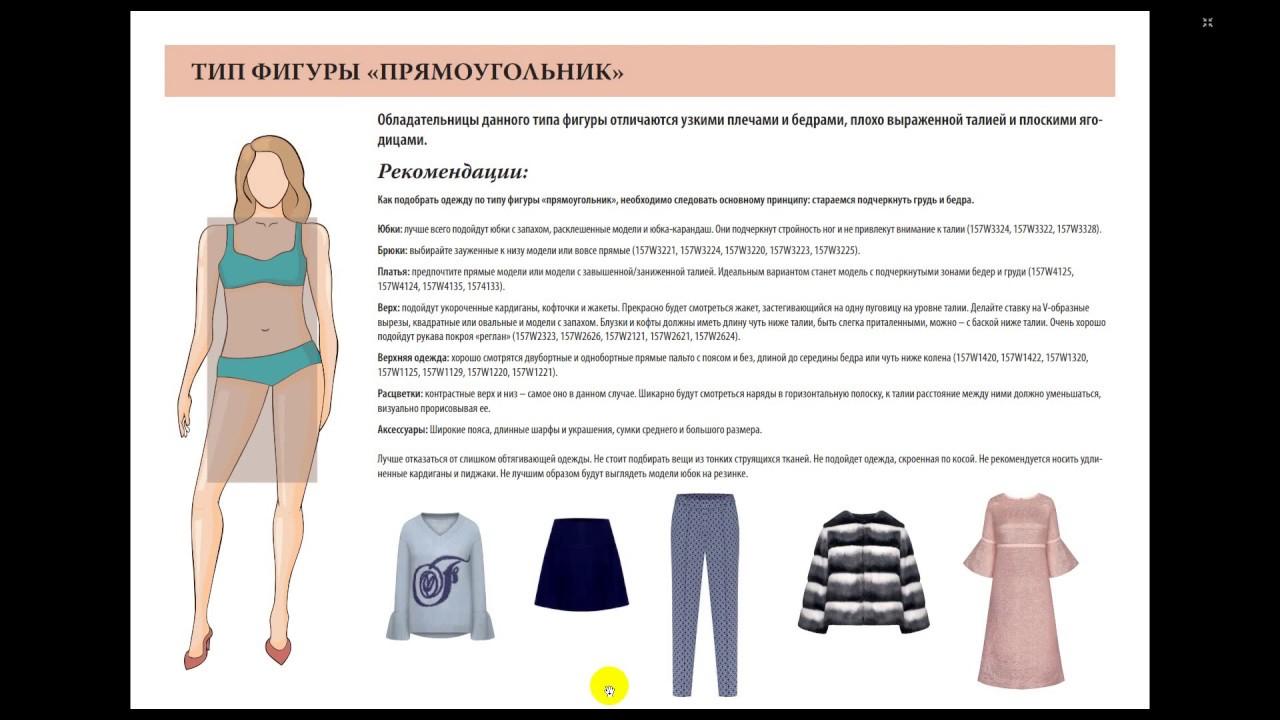 как подобрать одежду по типу фигуры фото