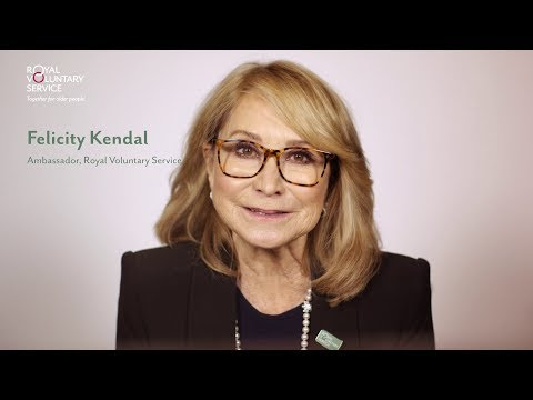 Donate to Royal Voluntary Service  Felicity Kendal