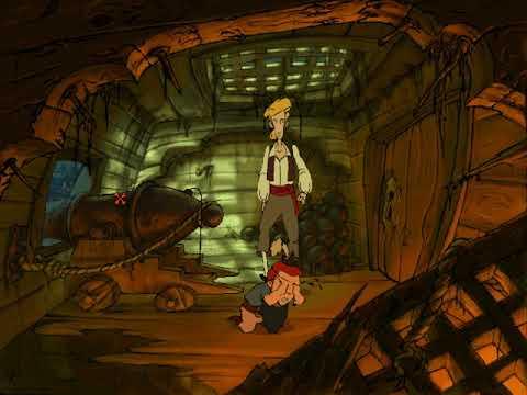 Curse of Monkey Island DEMO (Early animation!) |
