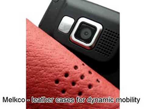 Melkco Tasche Leder Etui cuir ~Samsung SGH-i600 Flip Type (Red)
