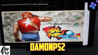 Fatal Fury: Battle Archives Volume 1 DamonPS2 Pro PS2 Games on smartphones/Android/Gameplay