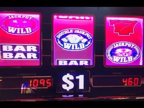 Akafuji Slot★BIG WIN Pechanga Casino - Black and White Double $1 Slot and GEMS Slot Max Bet $9