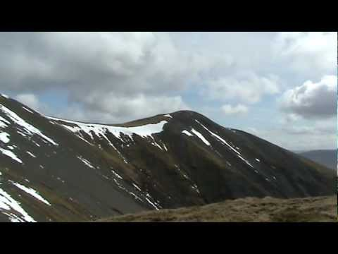 The Walking Englishman - Skiddaw Part 3: Steep climb from Carl Side