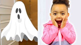 Leah pretend play bedtime ghost adventures and scary night