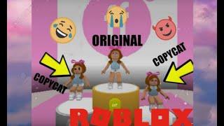 """Copycat prank"" (roblox game play tagalog)"