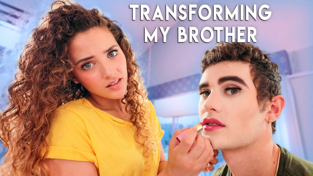 Transforming My Brother into James Charles
