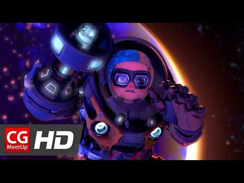 "CGI Animated Short Film ""Ariane's Sky Short Film"" by ISART DIGITAL"