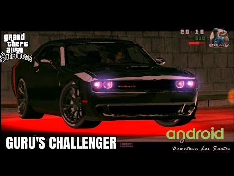 Guru Randhawa's Dodge Challenger From LAHORE | GTA SA Android (2 MB)