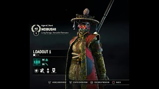 For Honor: 4h4a community Nobushi