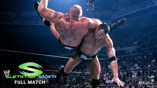 FULL MATCH: The Rock vs. Brock Lesnar – WWE Undisputed Title Match: SummerSlam 2002