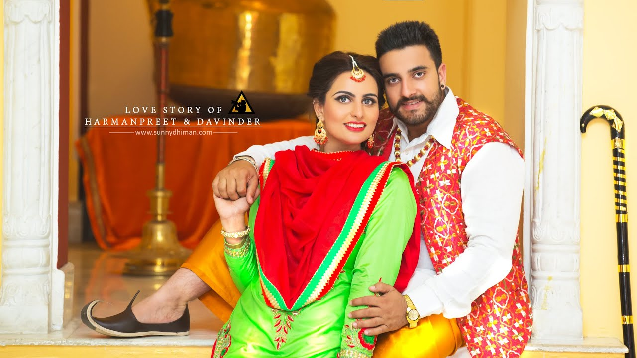 Best Punjabi Pre Wedding Davinder Harmanpreet Sunny Dhiman Photography Youtube