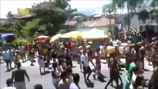 23 minutos de brigas, confusões em blocos de carnaval