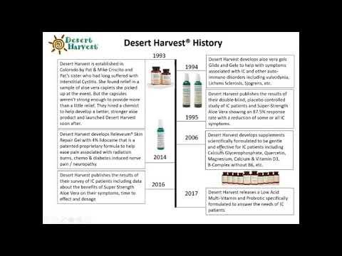 Desert Harvest Webinar Youtube