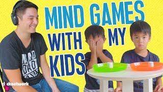 Mind Games With My Kids  (The Marshmallow Test) - Daddy Diaries: EP4