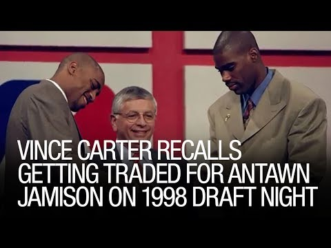 Vince Carter Recalls Getting Traded For Antawn Jamison On 1998 Draft Night
