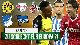 Bundesliga zu schlecht für Europa?! | Analyse