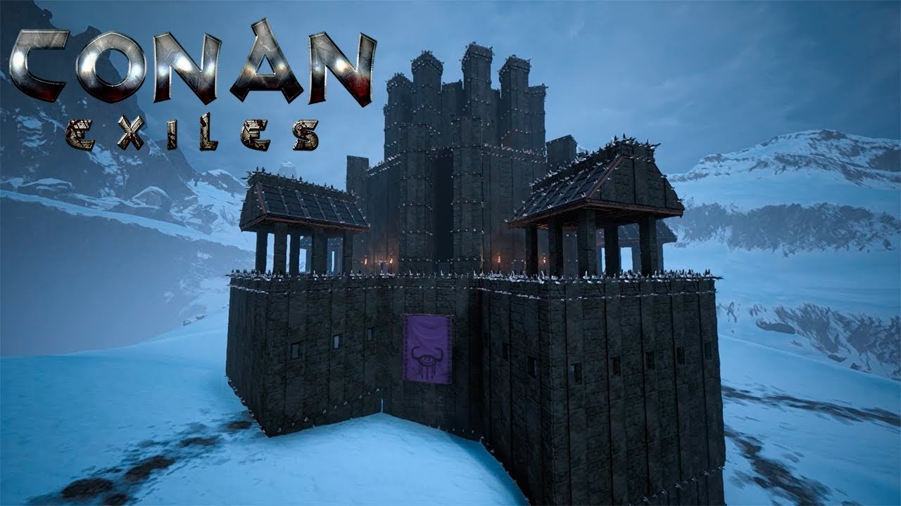 how to get black ice conan exiles