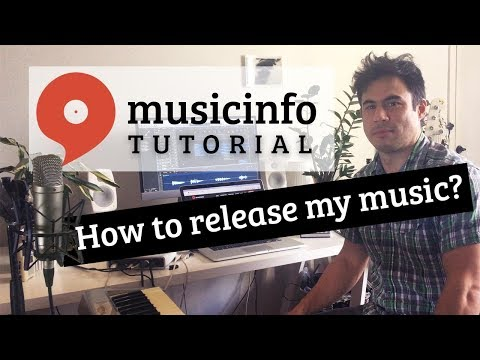 Musicinfo Tutorial: 1. How to release my music? Mp3