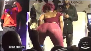 Don't Watch if You still Y0ung, Sheebah made her Pants Wet