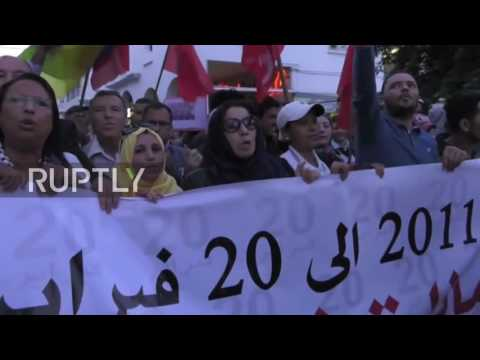 Morocco: Thousands demand justice for crushed fishmonger in Rabat