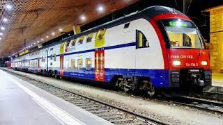 О поездах... RaBe 514 Швейцарских федеральных железных дорог!