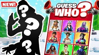 GUESS WHO Board Game in FORTNITE BATTLE ROYALE