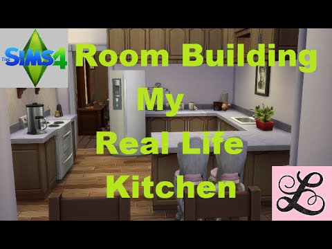 The Sims 4: Room Building - My Real Life Kitchen