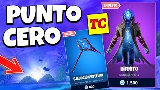 Retour ZERO POINT à FORTNITE et CHANGE carte 😎 Infinite Skin Saison 10