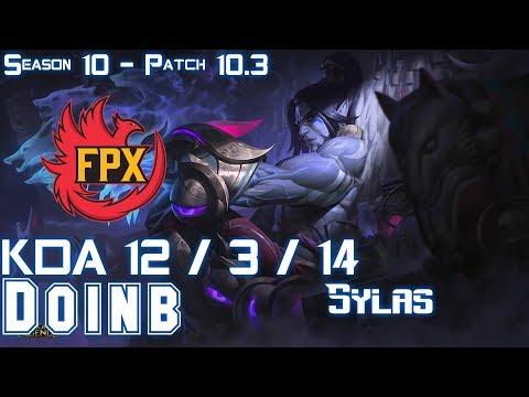 FPX Doinb SYLAS Vs GAREN Mid - Patch 10.3 KR Ranked