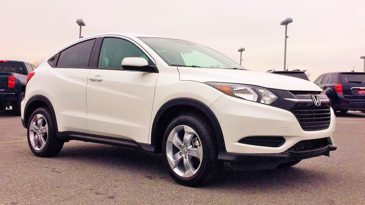 2016 Honda Hr V Lx Awd Review Start Up And Tour