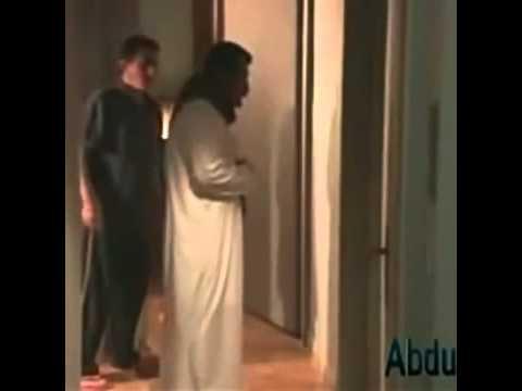 Arab watching filipina