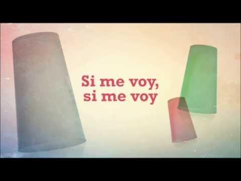 'Si Me Voy' (Cups) - Lyric vídeo - Paula Rojo & The Wild Horses