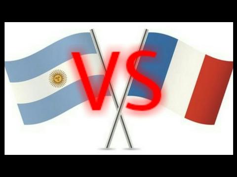 FRANE-ARGENTINE FINALE COUPE INTERNATIONALE