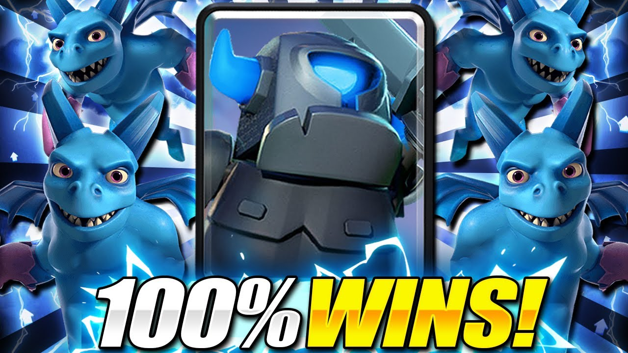 UNDEFEATED DECK!! #1 MINI PEKKA DECK TO PUSH TROPHIES in Clash Royale!!