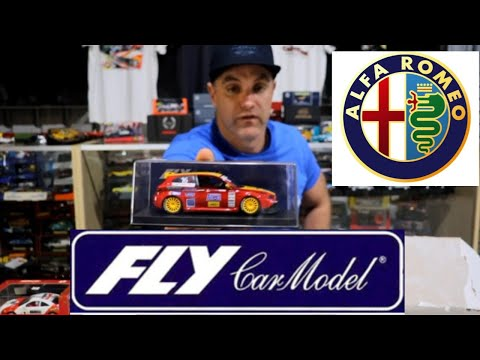 slot cars: new delivery and a Fly slot Alfa 147 review