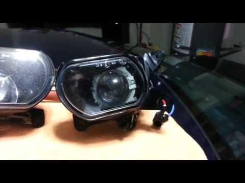 Projected Fog Lamp Retrofit in Audi B5 S4 2.7t