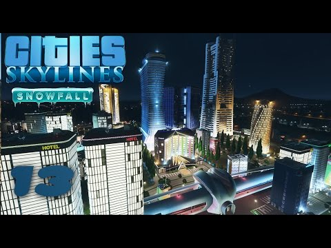 S02#013 - CBD Central Business District | Lets Play Cities Skylines Snowfall | [HD, German]
