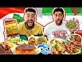 LEBANESE & PERSIAN SWAP LUNCH FOODS ! FT. FAZE NIKAN