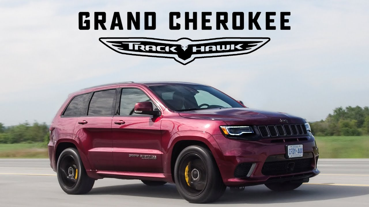 2018 Jeep Trackhawk Review The Suv That S Quicker Than A Supercar Youtube