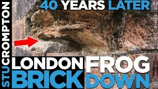 London Brick layed frog down 40 years later