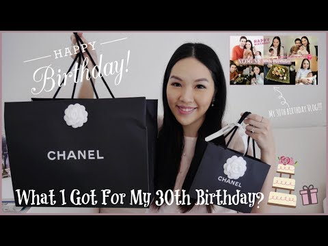 What I Got For My 30th Birthday?🎂🎁| ANGELBIRDBB