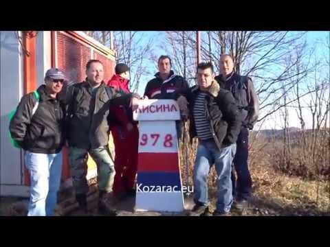 Kozara od Lisine   do Stare Pilane  11 12 2016  Kozarac eu, Nijaz Caja Huremović