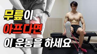 무릎 통증에 좋은 운동 3가지 (대퇴사두근 근력 강화운…