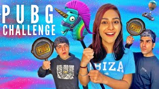 PUBG CHALLENGE WITH BROTHER & SISTER | Rimorav Vlogs