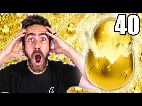 40 NEW GOLDEN EGG ROCKET LEAGUE CRATE OPENING!
