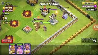 Hack clash of clans thành công 100% _Khi king và cung thủ gặp king và cung thủ