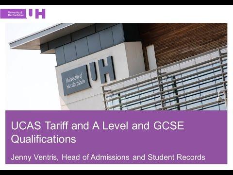 UCAS Tariff, A Level and GCSE Qualifications Update