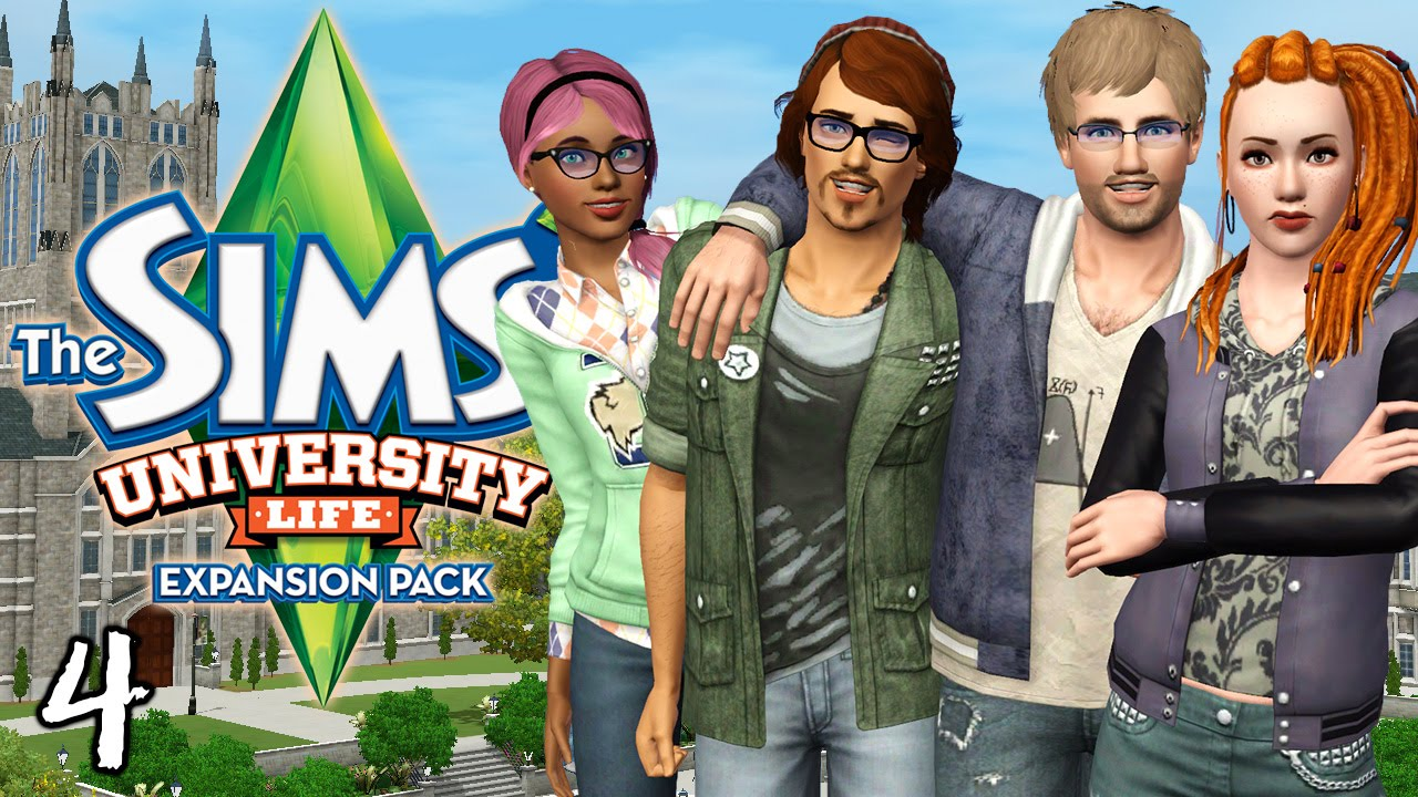 Let's Play The Sims 3 University Life - Ep. 4 - Gettin' Juiced at a Party!