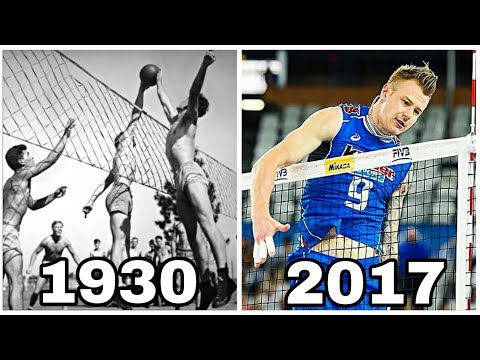 Volleyball Evolution 1930 - 2017 (HD)