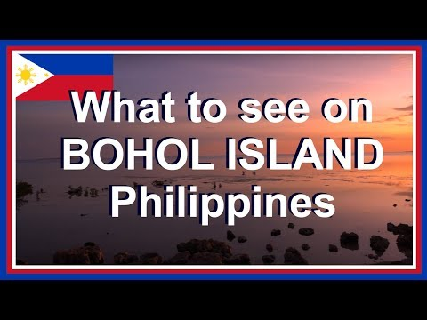 Bohol Philippines Vlog of Bohol Philippines Tourist Attractions and Friendly Filipinos